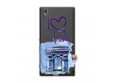 Coque Sony Xperia T3 I Love Paris Arc Triomphe