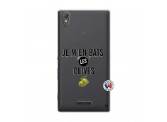 Coque Sony Xperia T3 Je M En Bas Les Olives