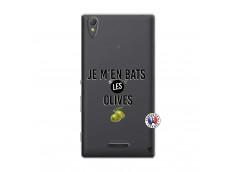 Coque Sony Xperia T3 Je M En Bas Les Olives