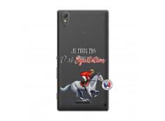 Coque Sony Xperia T3 Je Peux Pas J Ai Equitation