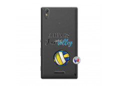 Coque Sony Xperia T3 Je Peux Pas J Ai Volley