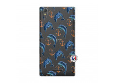 Coque Sony Xperia T3 Dauphins