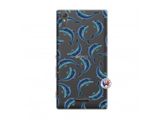 Coque Sony Xperia T3 Dolphins