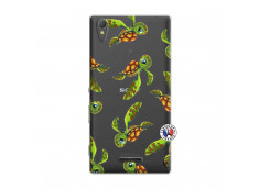 Coque Sony Xperia T3 Tortue Géniale