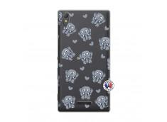 Coque Sony Xperia T3 Petits Elephants