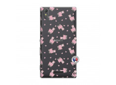 Coque Sony Xperia T3 Petits Moutons