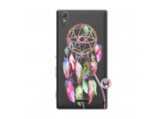Coque Sony Xperia T3 Pink Painted Dreamcatcher
