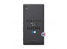 Coque Sony Xperia T3 Rien A Foot Allez Auxerre