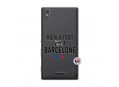 Coque Sony Xperia T3 Rien A Foot Allez Barcelone