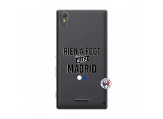 Coque Sony Xperia T3 Rien A Foot Allez Madrid