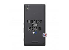 Coque Sony Xperia T3 Rien A Foot Allez Madrid