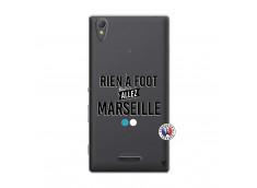 Coque Sony Xperia T3 Rien A Foot Allez Marseille
