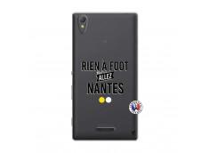 Coque Sony Xperia T3 Rien A Foot Allez Nantes