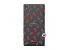 Coque Sony Xperia T3 Rose Pattern
