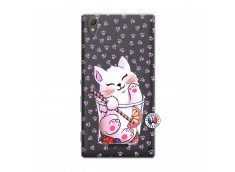 Coque Sony Xperia T3 Smoothie Cat