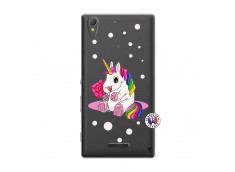 Coque Sony Xperia T3 Sweet Baby Licorne