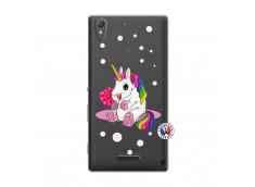Coque Sony Xperia T3 Sweet Baby Licorne