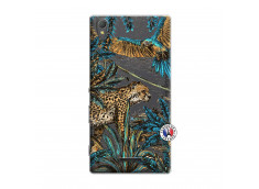Coque Sony Xperia T3 Leopard Jungle