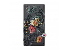 Coque Sony Xperia T3 Leopard Tree