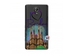 Coque Sony Xperia T I Love Barcelona