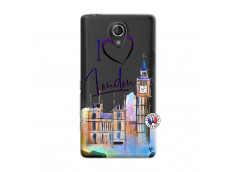 Coque Sony Xperia T I Love London