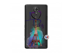 Coque Sony Xperia T I Love Paris