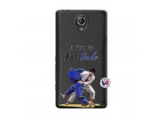 Coque Sony Xperia T Je peux pas j'ai Judo