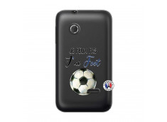Coque Sony Xperia Tipo Je peux pas j'ai Foot