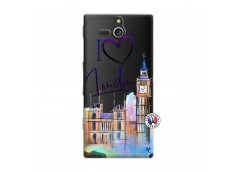 Coque Sony Xperia U I Love London