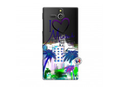 Coque Sony Xperia U I Love Miami