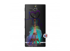 Coque Sony Xperia U I Love Paris