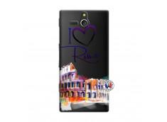 Coque Sony Xperia U I Love Rome