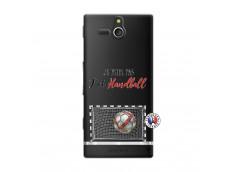 Coque Sony Xperia U Je peux pas j'ai Handball