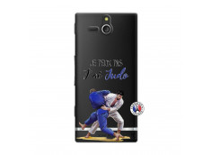 Coque Sony Xperia U Je peux pas j'ai Judo
