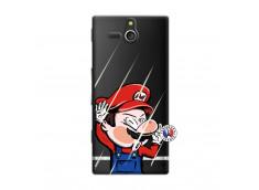 Coque Sony Xperia U Mario Impact