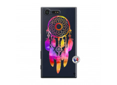Coque Sony Xperia X Compact Dreamcatcher Rainbow Feathers