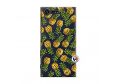 Coque Sony Xperia X Compact Ananas Tasia