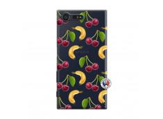 Coque Sony Xperia X Compact Hey Cherry, j'ai la Banane