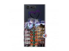 Coque Sony Xperia X Compact I Love Amsterdam