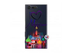 Coque Sony Xperia X Compact I Love Moscow