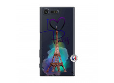 Coque Sony Xperia X Compact I Love Paris