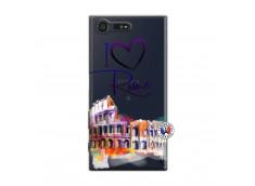 Coque Sony Xperia X Compact I Love Rome