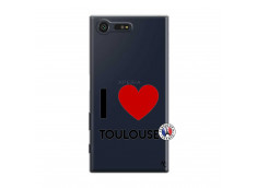 Coque Sony Xperia X Compact I Love Toulouse
