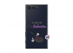 Coque Sony Xperia X Compact Je Peux Pas J Ai Badminton