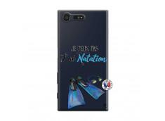 Coque Sony Xperia X Compact Je Peux Pas J Ai Natation