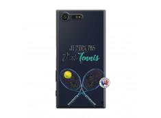 Coque Sony Xperia X Compact Je Peux Pas J Ai Tennis