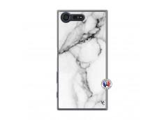 Coque Sony Xperia X Compact White Marble Translu