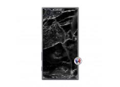 Coque Sony Xperia X Compact Black Marble Translu
