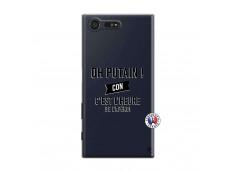 Coque Sony Xperia X Compact Oh Putain C Est L Heure De L Apero