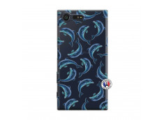 Coque Sony Xperia X Compact Dolphins